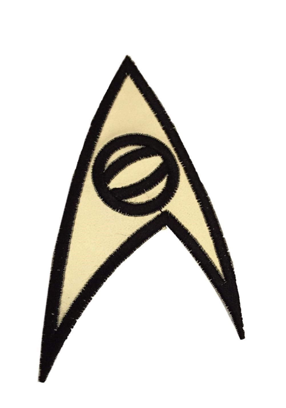 "Star Trek Original Series MEDICAL Uniform Logo 3/""  Embroidered GOLD FOIL PATCH"