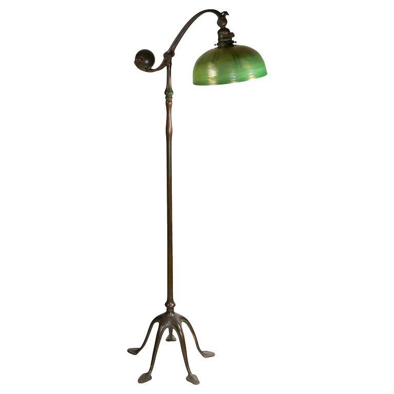 Tiffany Studios Counter Balance Floor Lamp American Circa 1900 Lamp Floor Lamp Interior Decorating