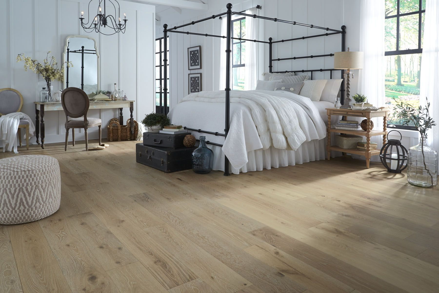 Virginia Mill Works Engineered 9 16 X 7 1 2 Whispering Wheat Oak Wirebrushing Is A Distressing Te Oak Lumber Oak Engineered Hardwood Wood Floors Wide Plank