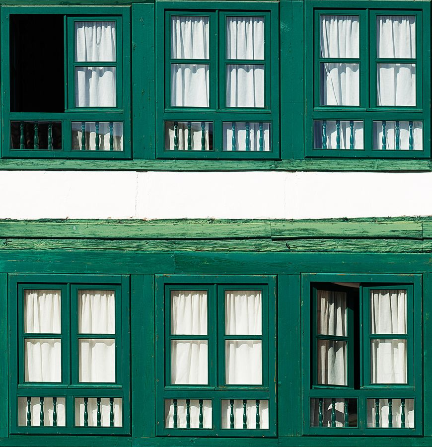 Mysterious Windows by Victor Del Olmo, via 500px