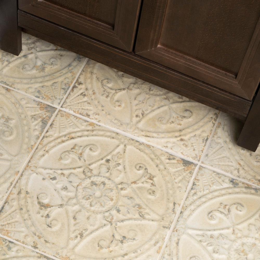 Merola Tile Saja Blanco 13 In X 13 In Ceramic Floor And Wall Tile 12 2 Sq Ft Case Fpesajb The Home Depot Wood Look Tile Tile Floor Elitetile