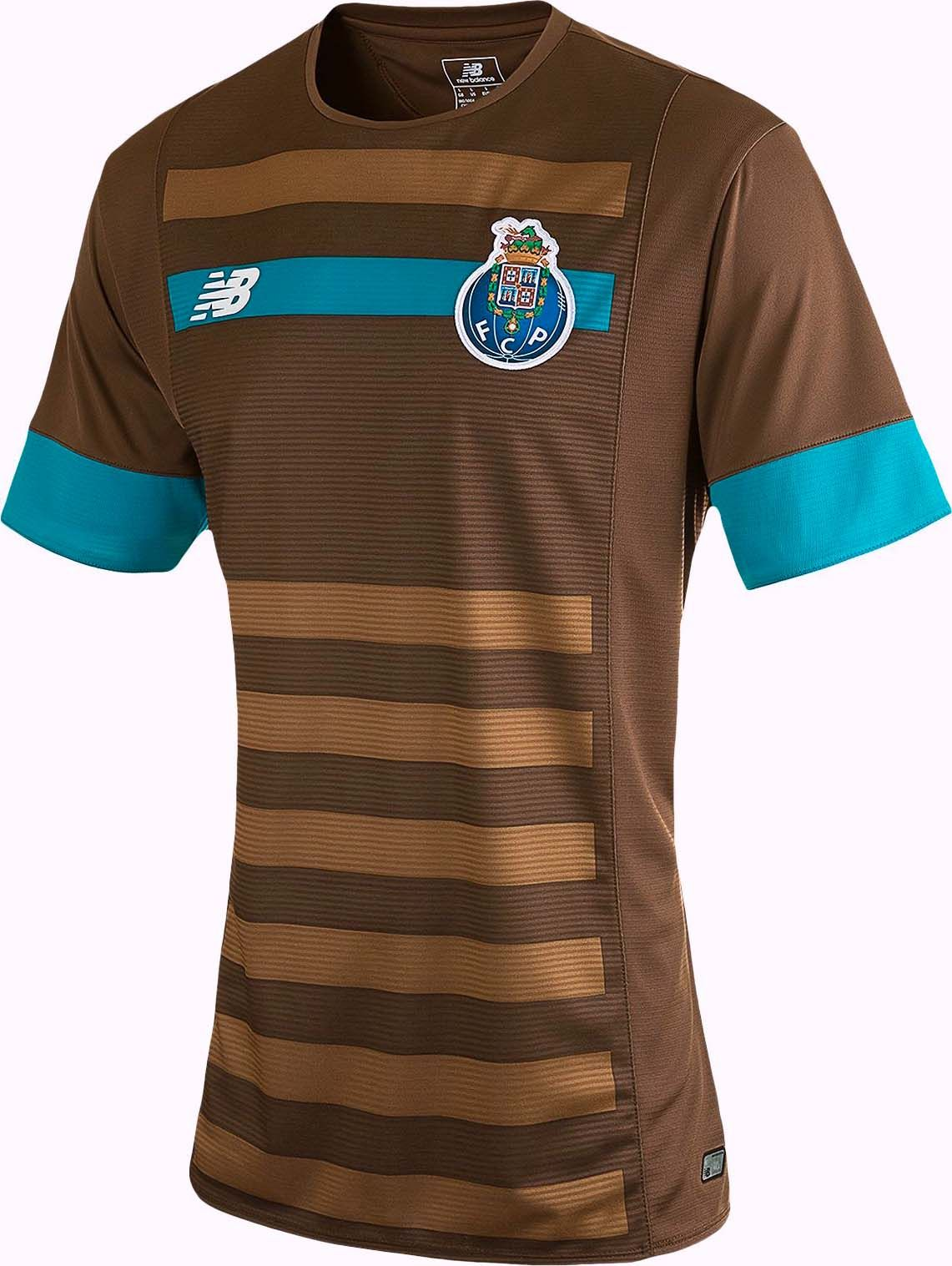 4dc5ed615 The New Balance FC Porto 15-16 Kits feature striking design. While the New  Balance FC Porto 2015-16 Home Kit is traditional, the new Porto 15-16 Away  Jersey ...