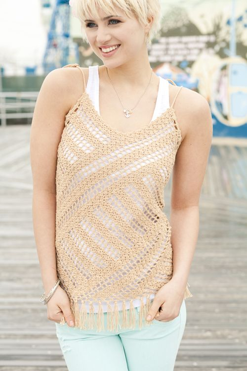 Lace on the Bias | crochet today
