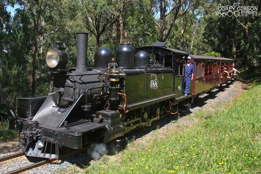 Puffing Billy Railway - 8A | Abandoned train, Heritage railway ...
