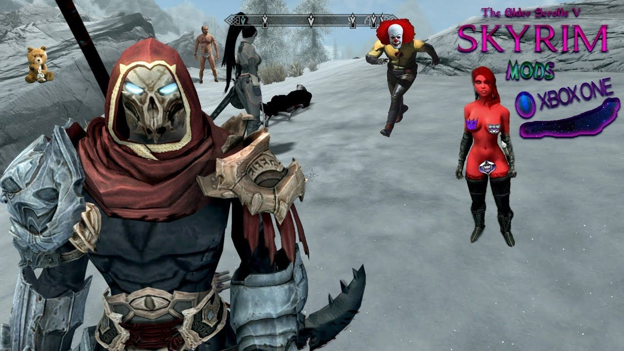 Skyrim Remastered Xbox One Mod Darksiders War Armor And Weapons