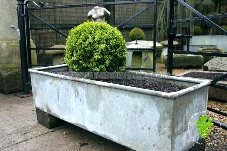 Extra Large Galvanized Planters Large Galvanised Trough Planters Galvanized Planters Galvanized Trough Trough Planters