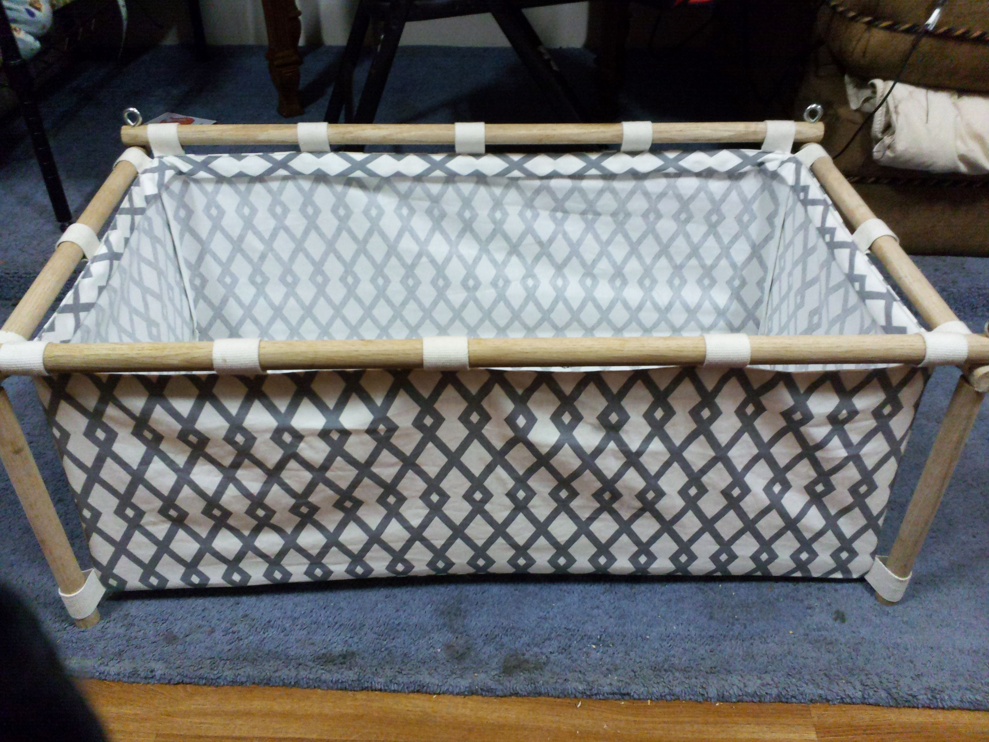 Diy Babyzimmer ~ The bassinet i made for baby diy my creations