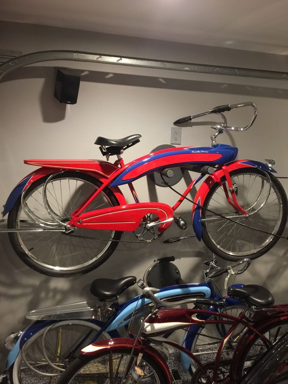 1939 hiawatha arrow vintage bicycle