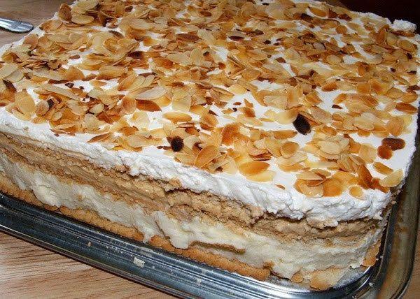 Torta Helada De Galletas María Recetas Deliciosas Postres Con Galletas Maria Tortas