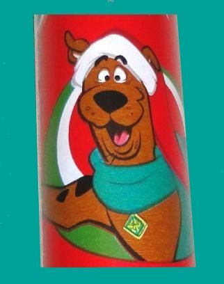 novelty Scooby Doo Christmas Gift Wrap wrapping paper