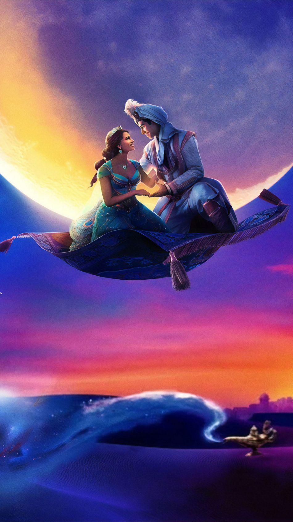 Naomi Scott & Mena Massoud In Aladdin 2019 Free 4K Ultra