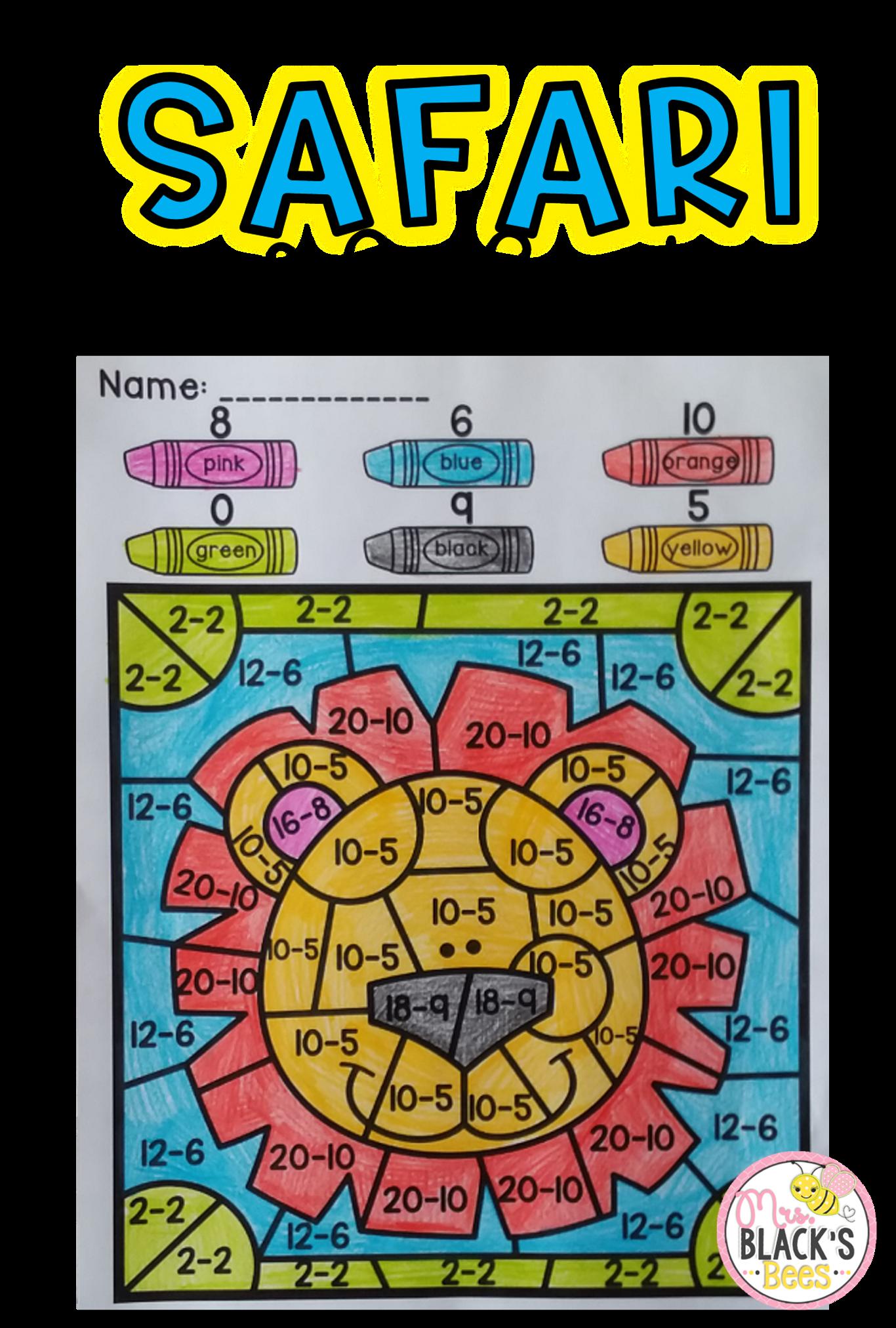 Color By Code Bundle