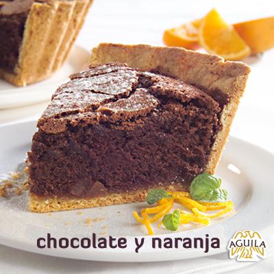 Torta de chocolate y naranja #torta #cake