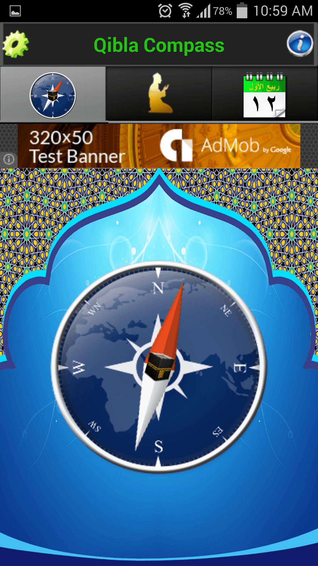 Mecca Compass App Pro Compass app, Islamic compass, Compass