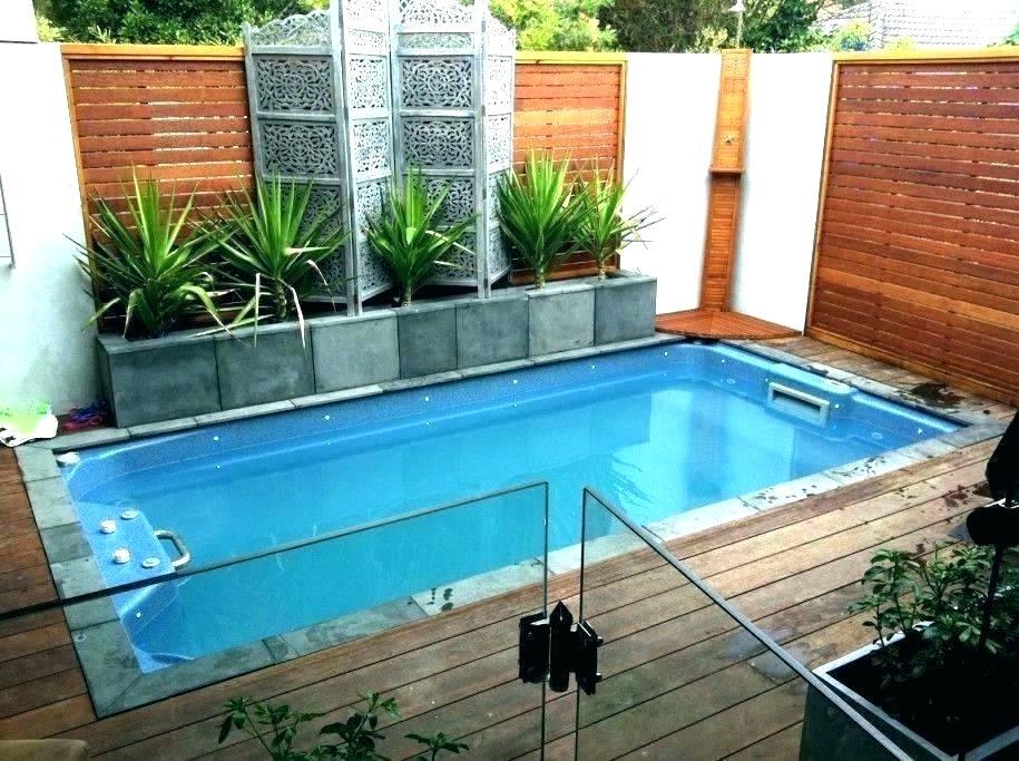 backyard pool size average swimming depth signs design ...