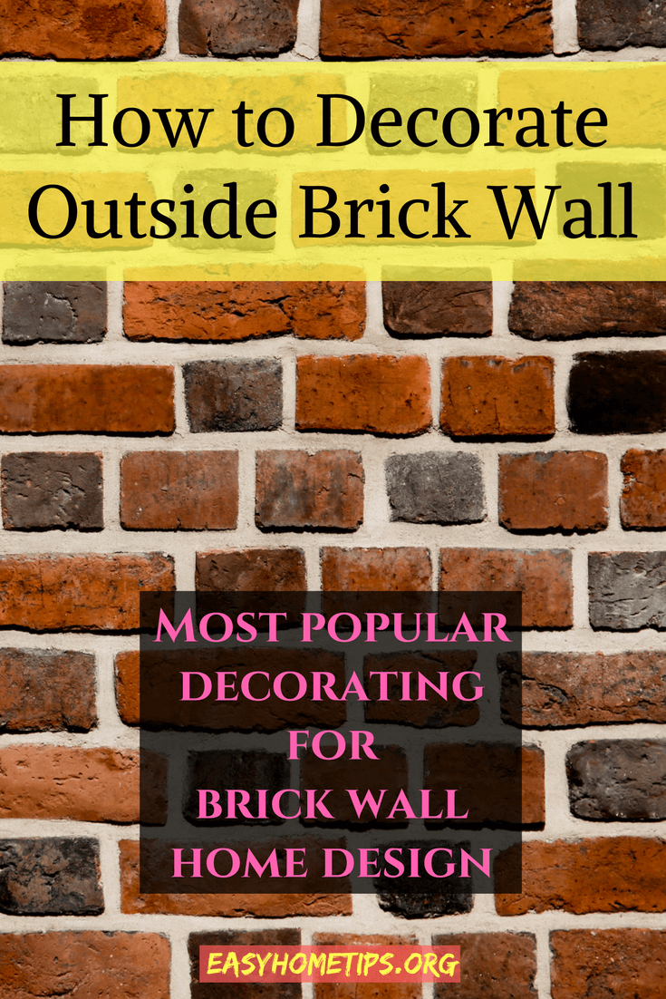 Best Designs For Outdoor Wall Art Extravagant Outdoor Wall Art Brick Wall Natural Accents Mybutteryfly Outdoor Wall Decor Garden Wall Designs Outdoor Walls