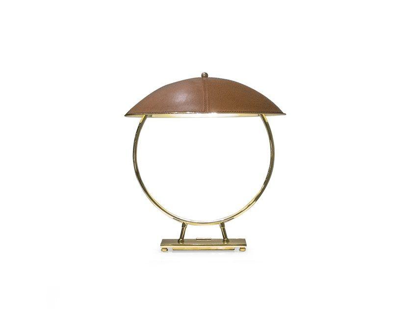 Deerskin Table Lamp Table Lamp Lamp Deer Skin