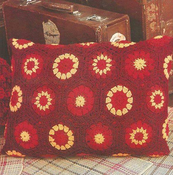 Patrón #1295: Almohada Rectangular a crochet | CTejidas [Crochet y ...