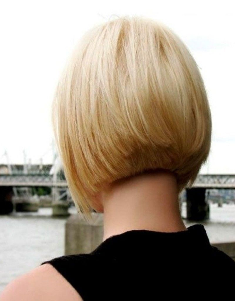 inspired short layered bob hairstyles front and back view