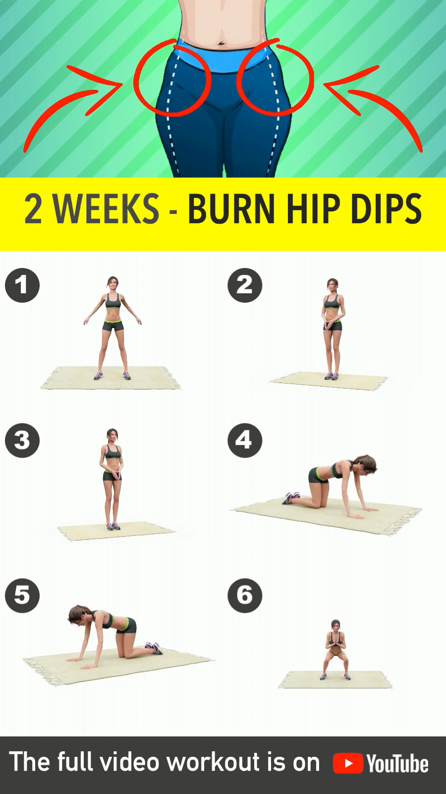 How To Get Rid Of Hip Dips At Gym
