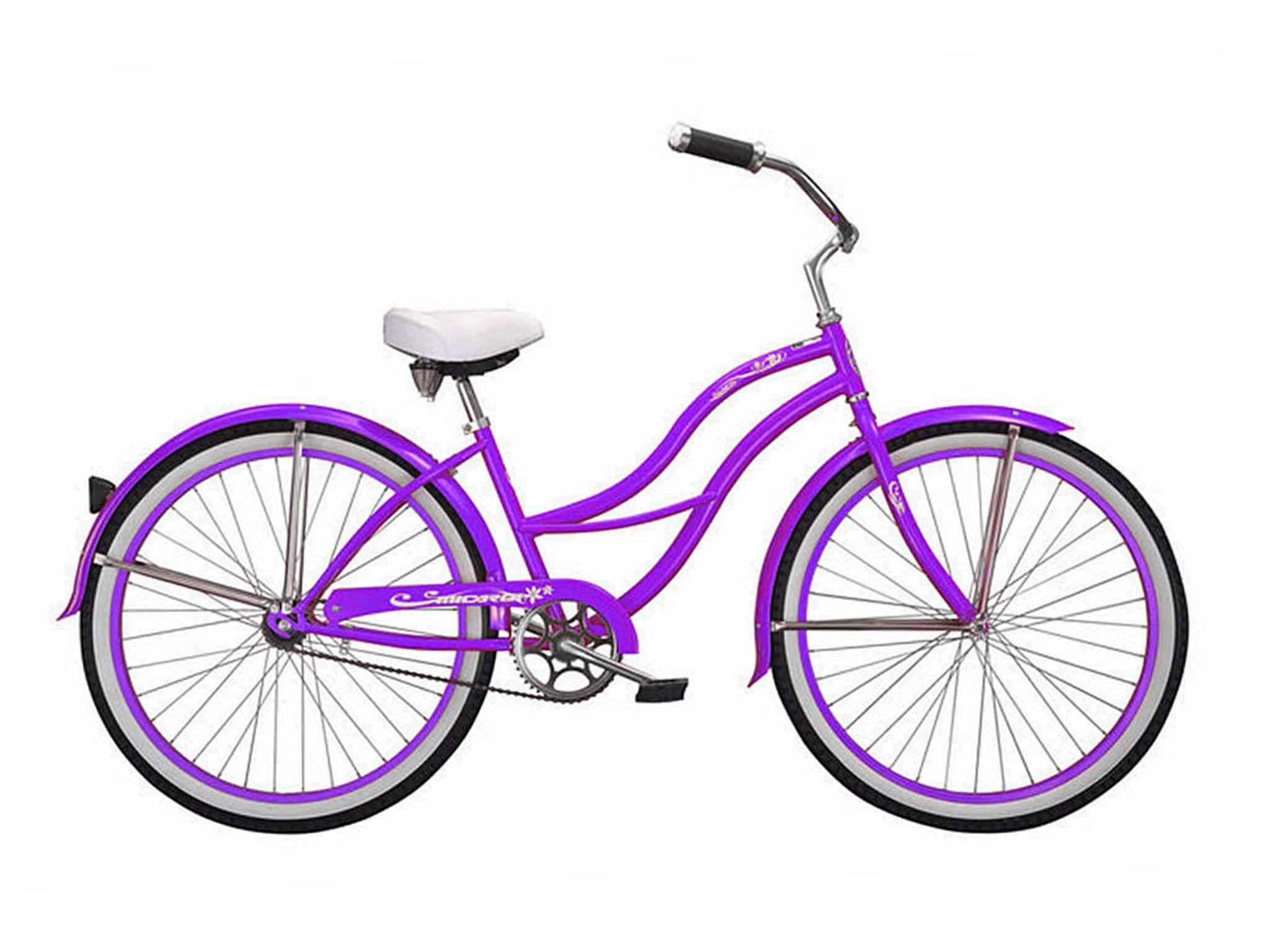 Micargi tahiti women s beach cruiser bike purple please