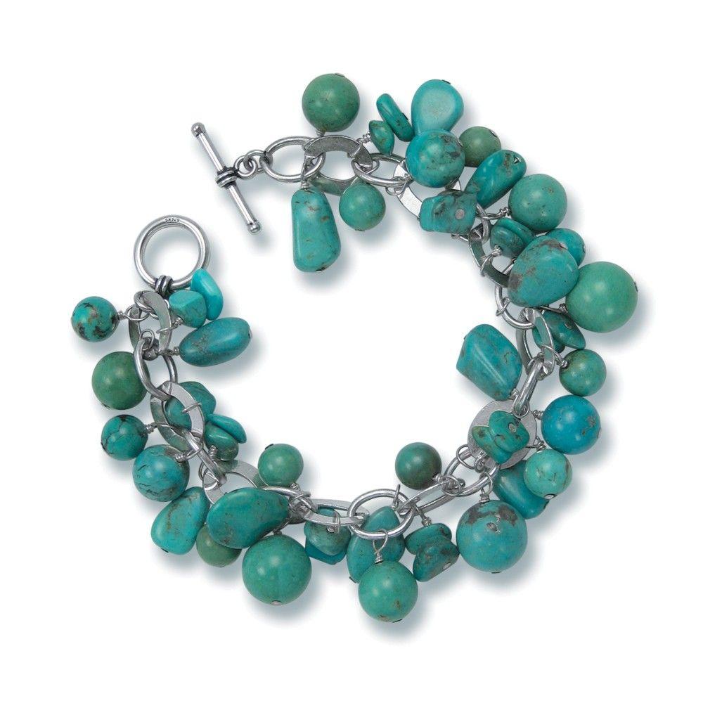 Turquoise Charm Bracelet 179