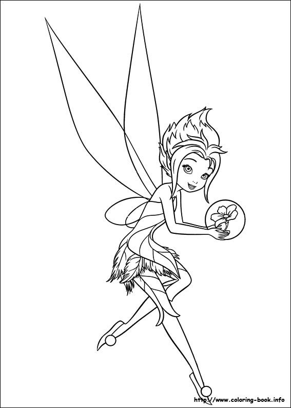 Secret Of The Wings Coloring Picture Tinkerbell Coloring Pages