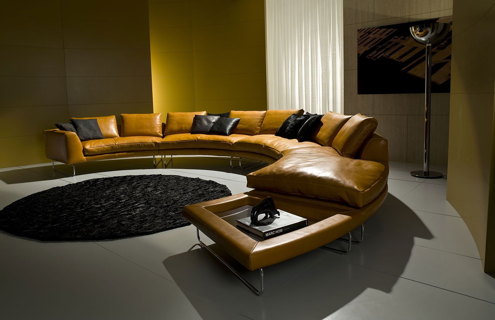 Add look round leather sofa 517 x 308 designer mauro lipparini sofa with solid