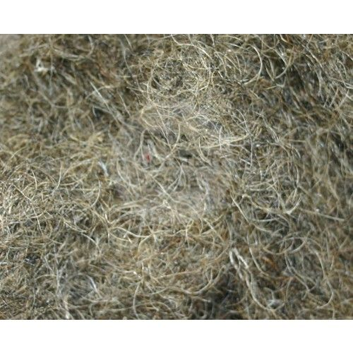 80%gris og 20%kvæg hår til polstring. 1 kg 190 kr