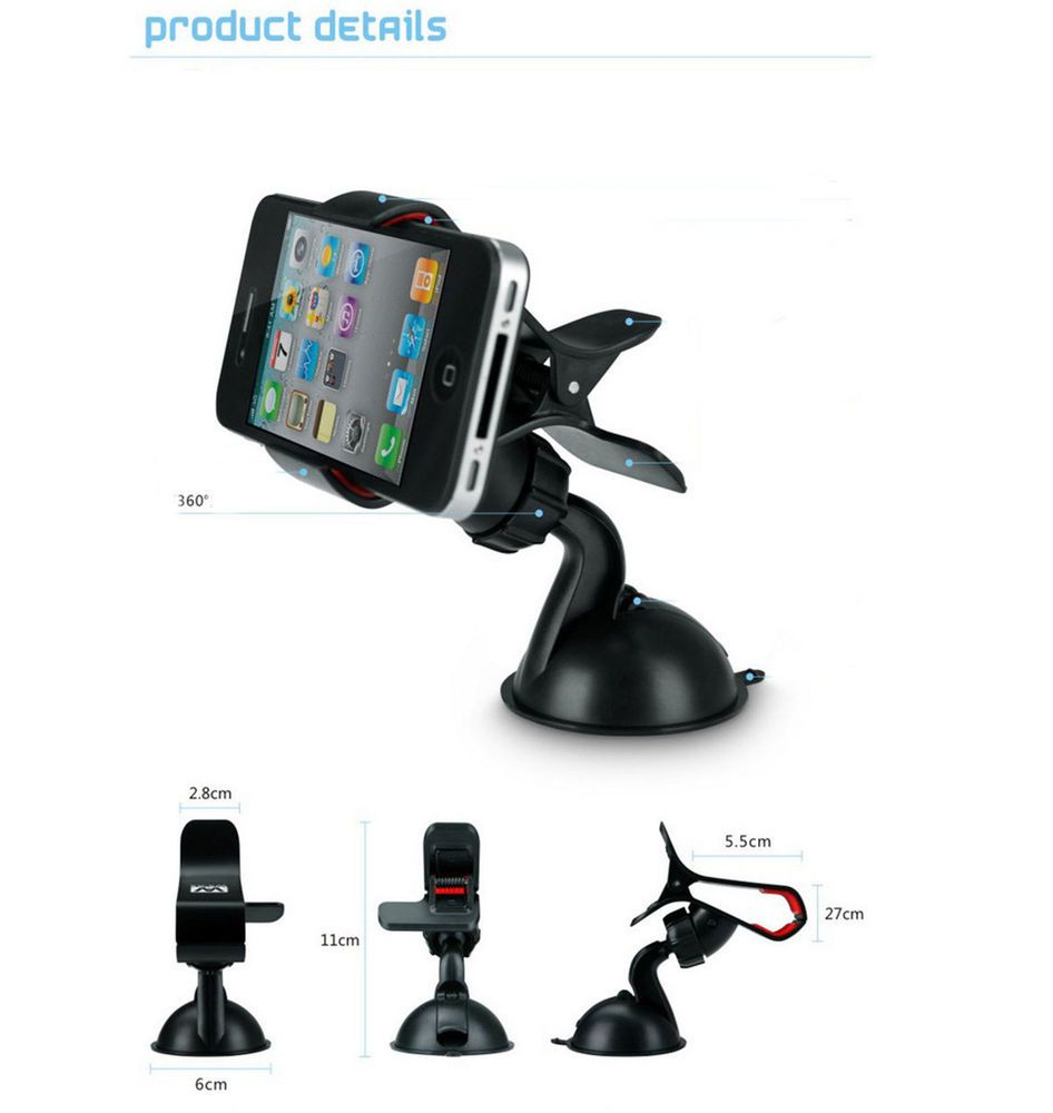 Universal hands free car mobile cell phone mount gps hands navigation holder yiwuwholesale