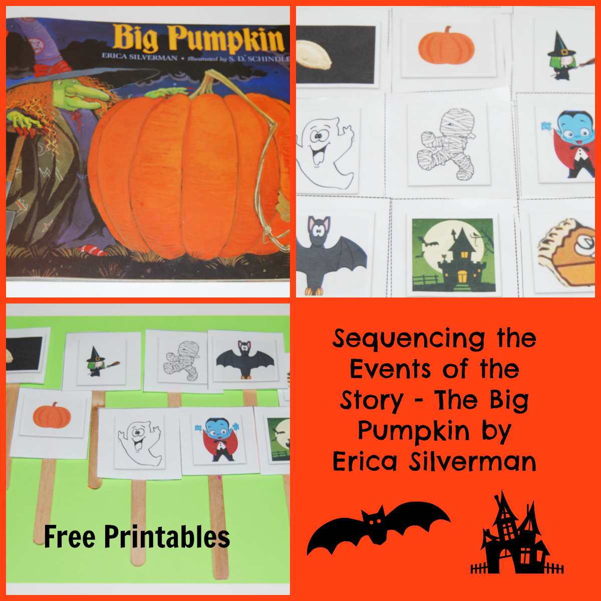 The Big Pumpkin By Erica Silverman Sequencing In