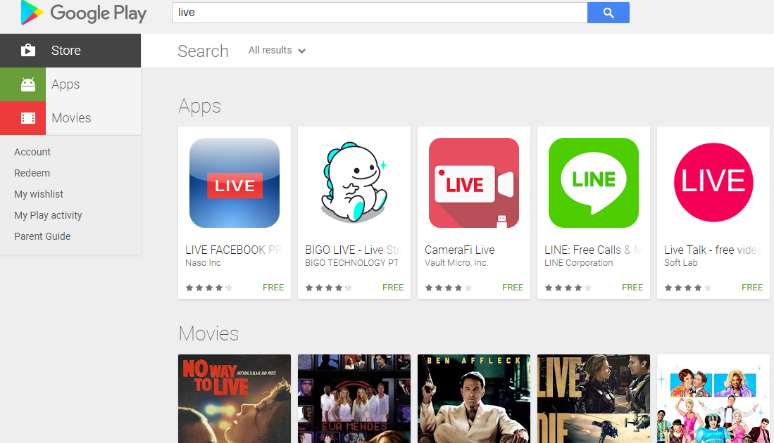 Google Play Store App Do you want to know how people are