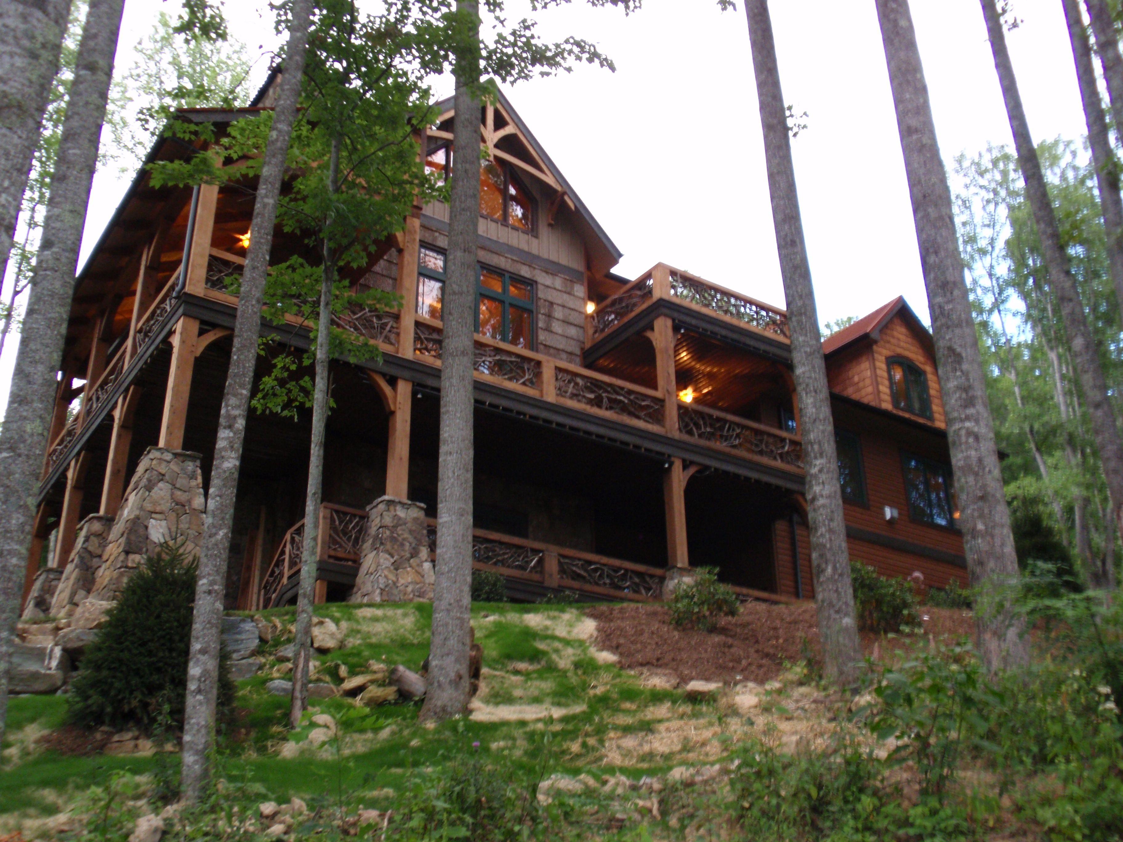 nest elkcabin cabin banner lodge and tub rentals with rentalsvacation cabins pin home eagles firepit hot elk