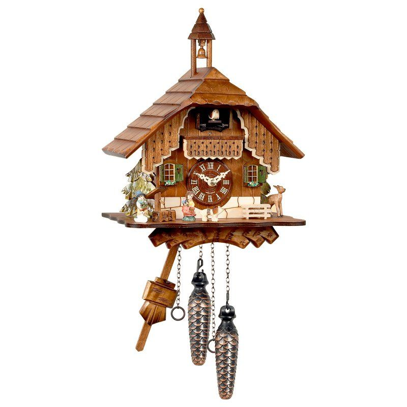 Black Forest Bell Tower Cuckoo Clock - 429Q