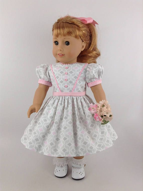 Dolls Pink Bow Bag Handbag For 18/'/' American Girl Dolls Clothes Accessories