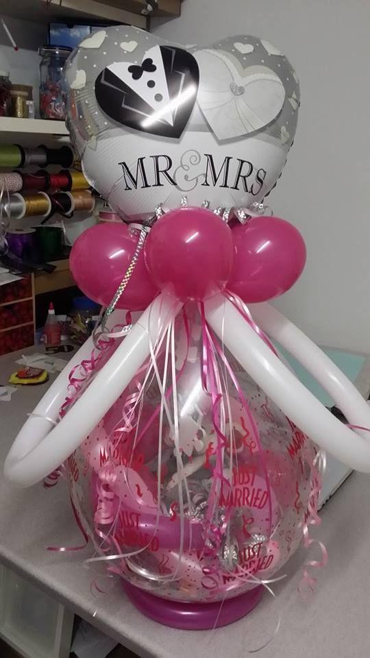 Ballon Geschenk zur Hochzeit  LuftballonKreationen  Pinterest  Geschenk hochzeit Geschenke