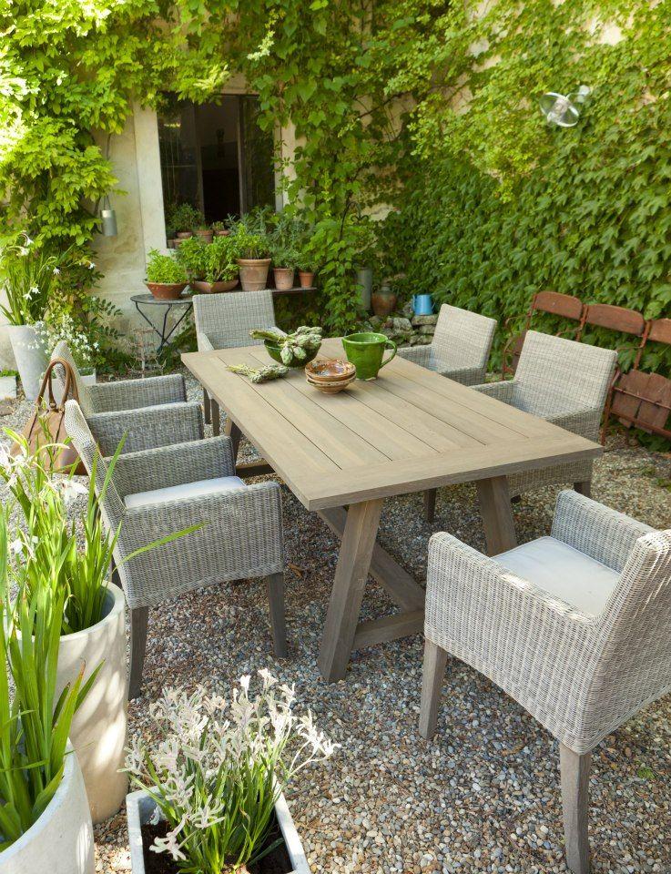 Envie De Jardin Table De Jardin Jardins En Bois Jardins
