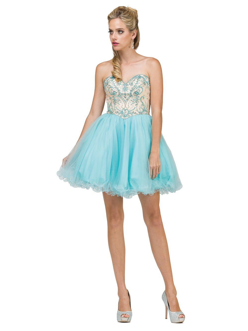 Dama Dress Style Quincedresses Com Dresses Dama Dresses Cocktail Dress [ 1333 x 1000 Pixel ]