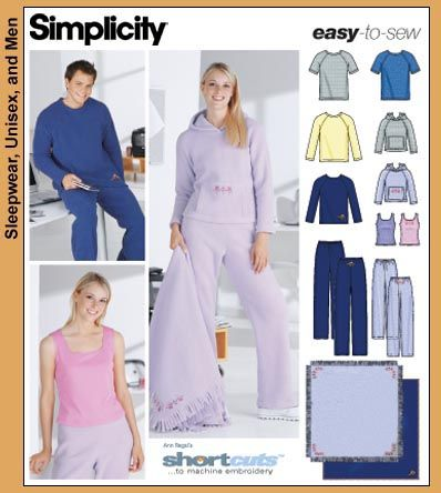 f5d8961f1199 Hooded Sweatshirt Sewing Pattern Simplicity hooded sweatshirt ...