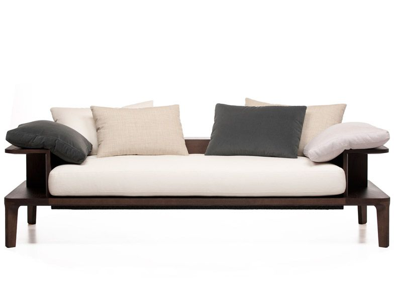 Neri Hu Furniture For De La Espada Looks Like The Wooden Armrests