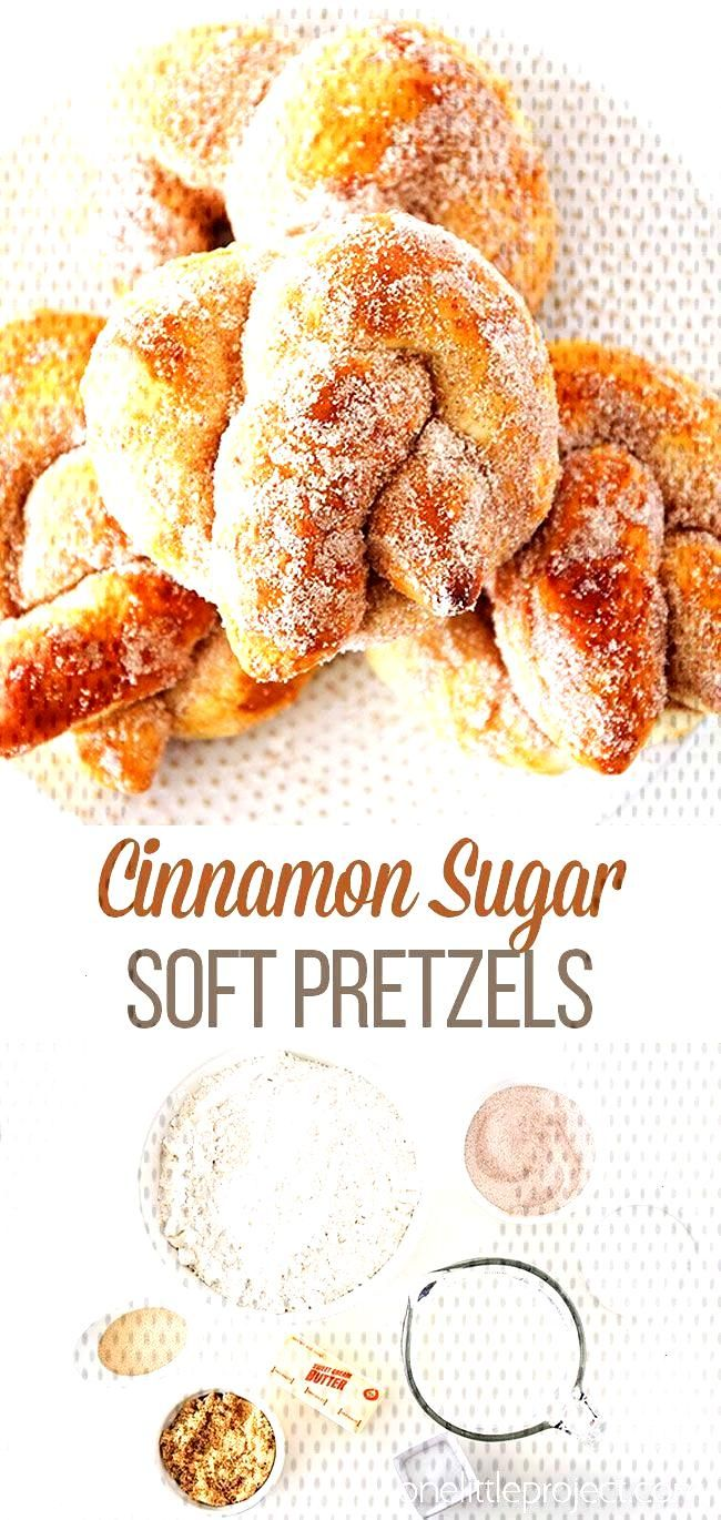 These cinnamon sugar soft pretzels are so delicious and theyre so quick and simple to make! They m