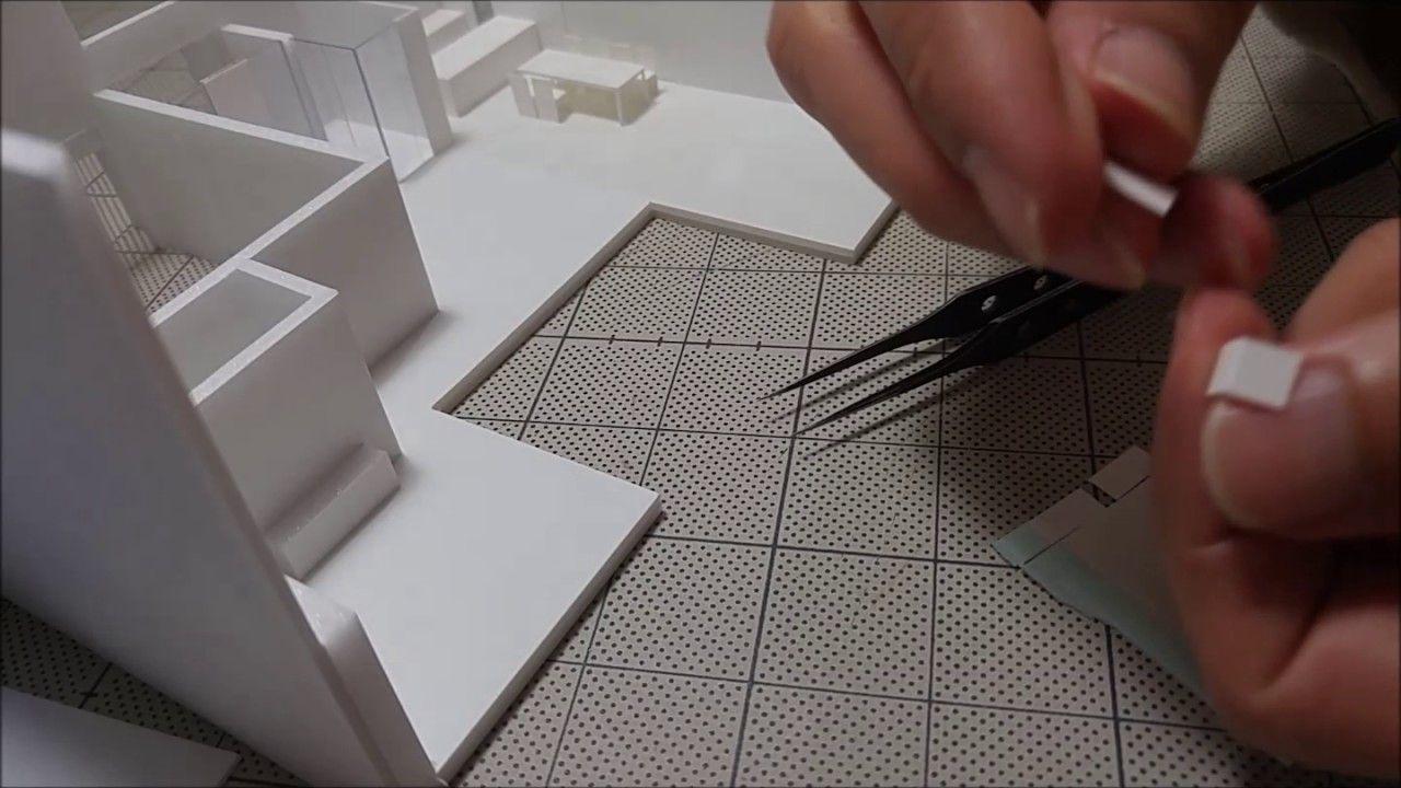 シンプルな椅子を大量生産する時の基本的な作り方 建築模型の作り方