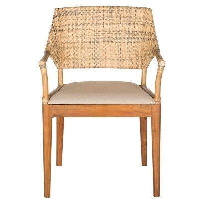 Dining Chair Wood/Honey - Safavieh Honey, Dining chairs and Dining