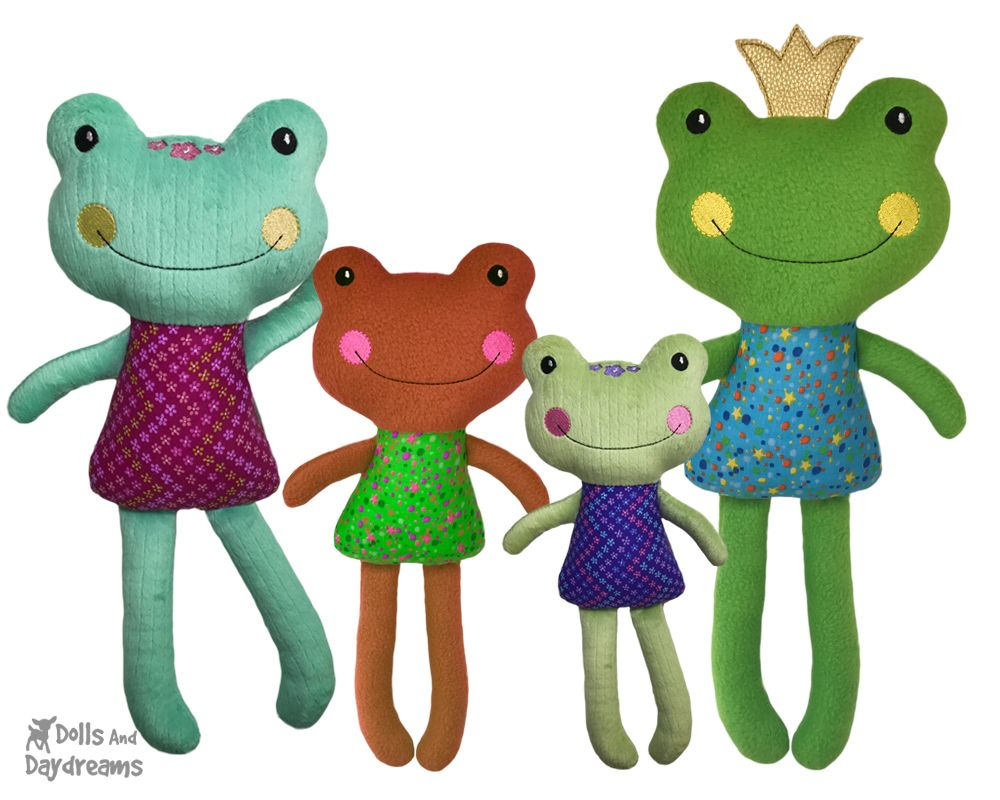 Doll, softie, plush and stuffed toy Sewing Patterns, plus Free ...