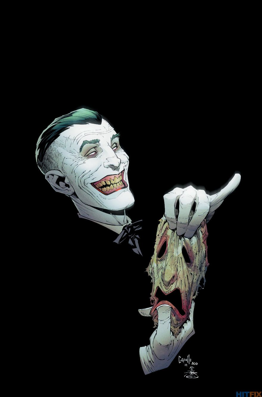 The Joker S New Face Is Revealed In Comic Art Comicon