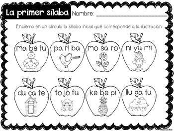 Un día de otoño {Fall Math and Literacy Centers in Spanish