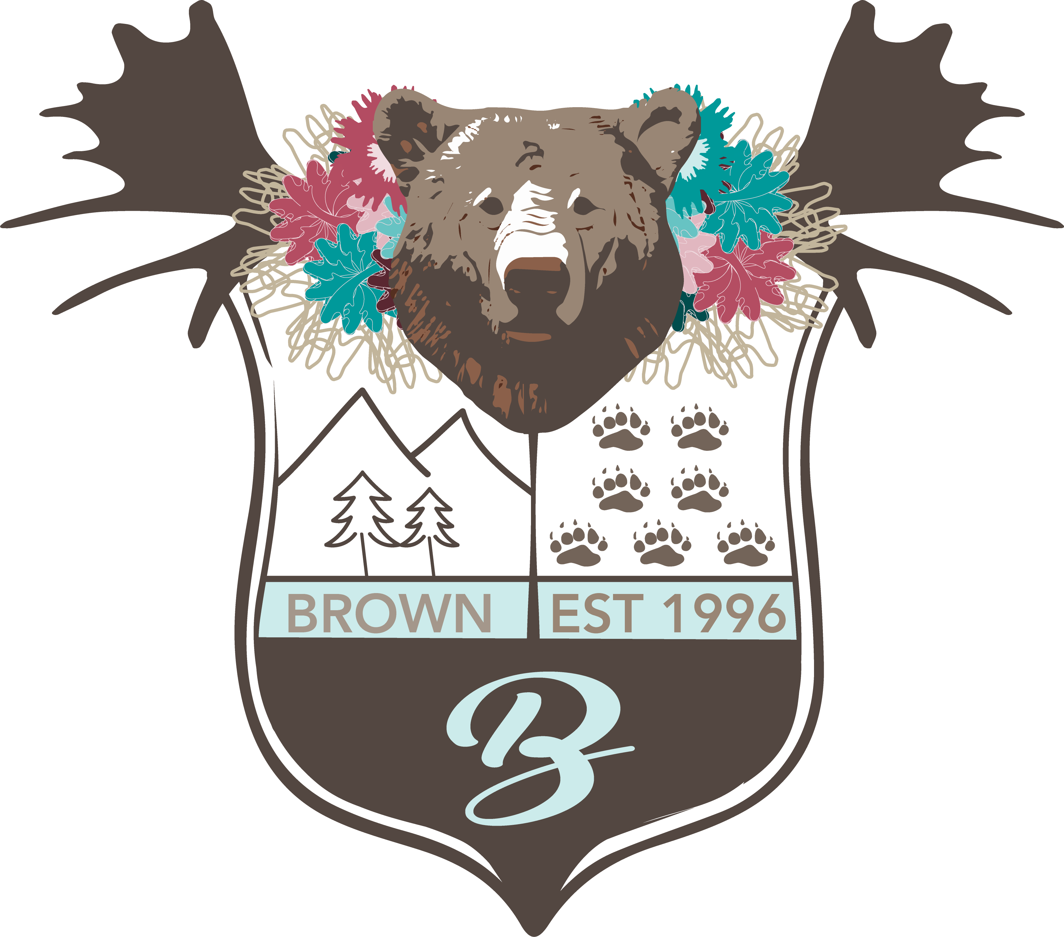Modern family crest created by brown moose design family crest modern family crest created by brown moose design buycottarizona