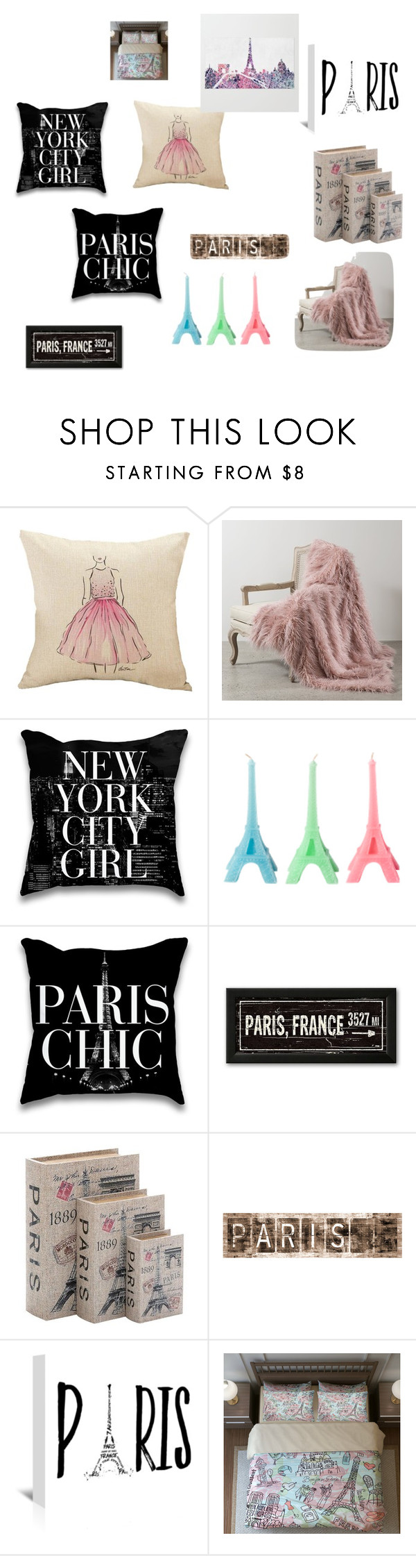 """""""paris"""" by haileyjbault on Polyvore featuring interior, interiors, interior design, home, home decor, interior decorating, Best Home Fashion, Home Decorators Collection and Leftbank Art"""