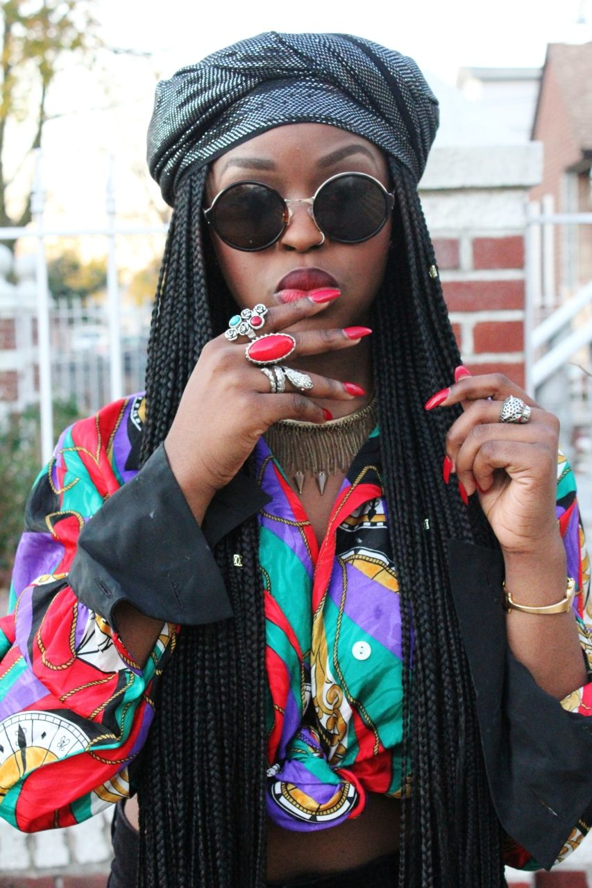 I Love Box Braids With Images Afro Punk Fashion
