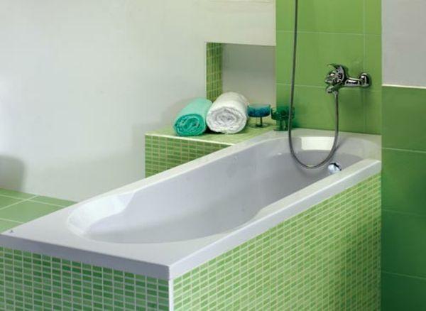 Badewanne einfliesen – Badewanne einbauen und verkleiden ... | {Badewanne einbauen 53}